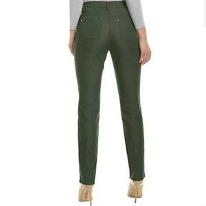 Lafayette army green casual pants